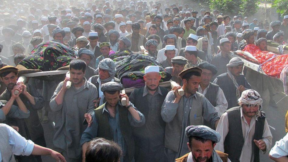 Trauerzug in Talokan