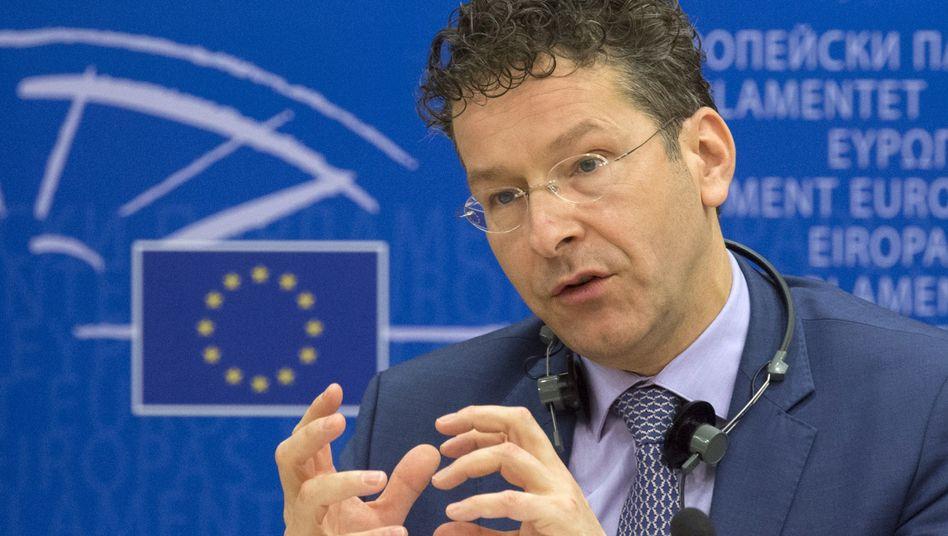 Euro-Gruppen-Chef Dijsselbloem: Botschaft an die Griechen