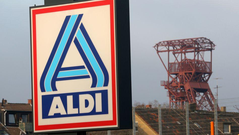 Aldi-Nord-Logo in Essen: Größte Akquisition in der Geschichte des Unternehmens