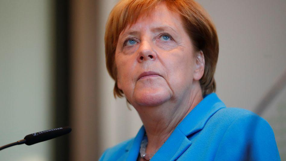 Angela Merkel in Dresden