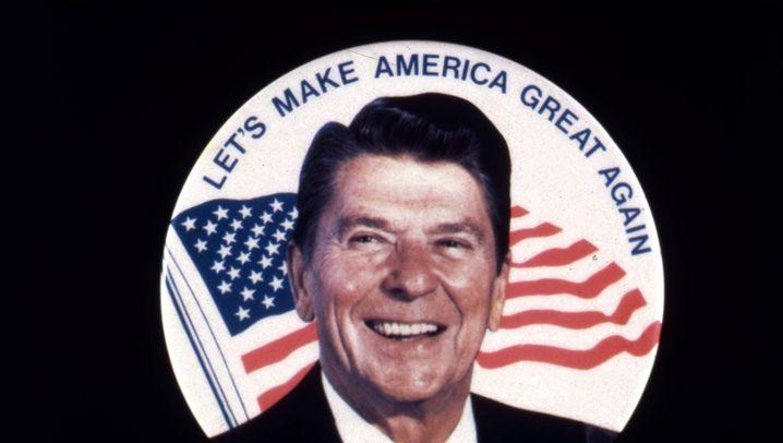 """Ronald Reagan: Vom """"Errol Flynn der Billigfilme"""" zum Weltpolitiker"""