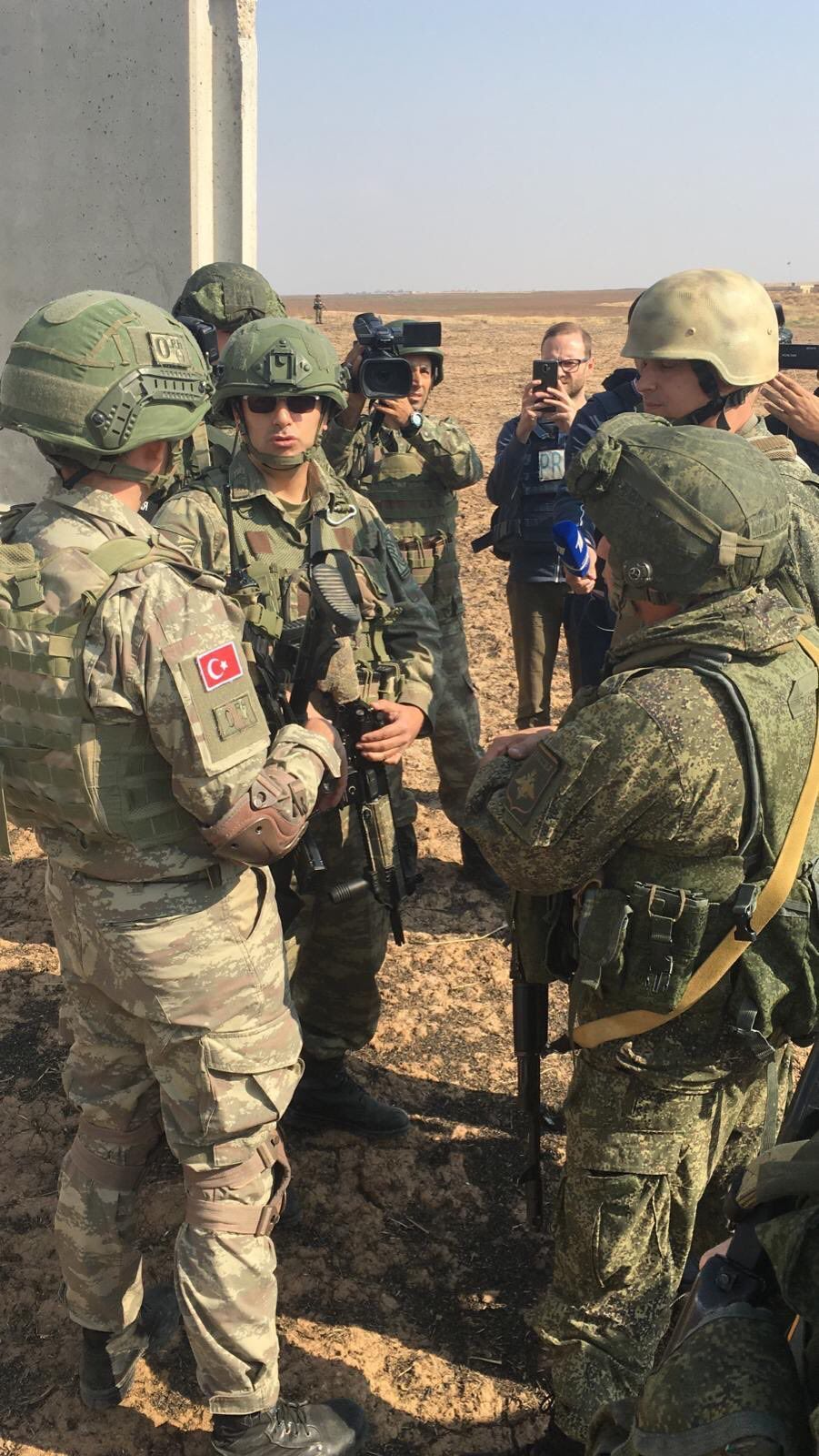 Soldaten Türkei Russland