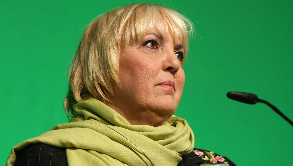 Claudia Roth: Persönliche Krise nach ihrem Rückzug als Grünen-Chefin