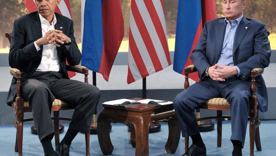 Obama und Putin (Archivaufnahme): Begeisterung füreinander nicht vorhanden