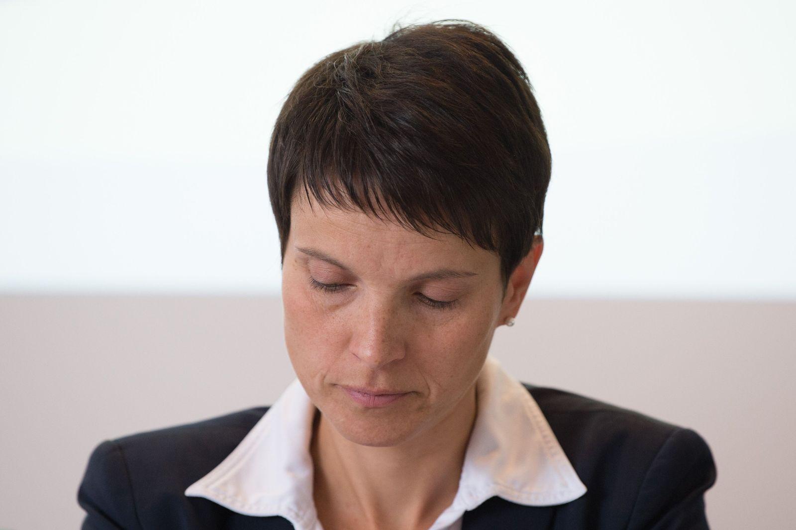 Frauke Petry/ Immunität