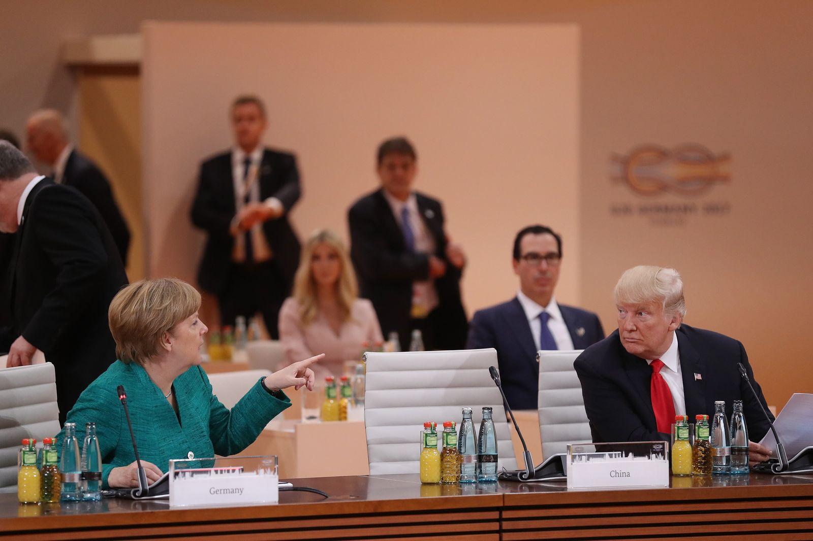 Angela Merkel / Donald Trump