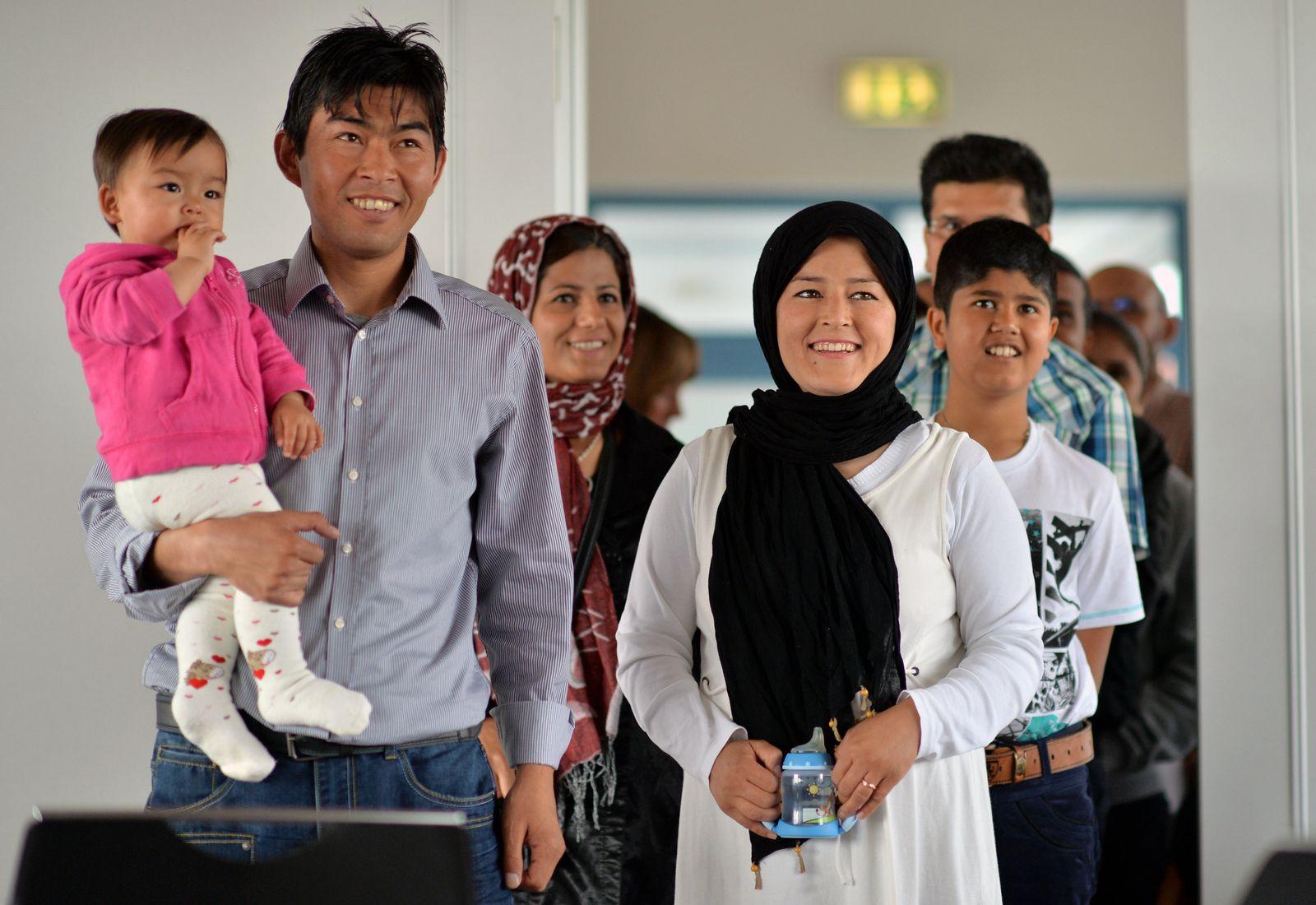 Flüchtlinge kommen nach Tröglitz
