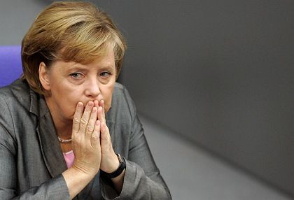 German Chancellor Angela Merkel's popularity has waned along with that of her party.