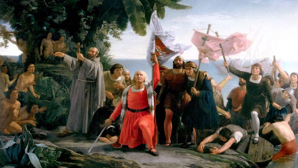 Christopher-Columbus-Darstellung von 1862: Grundlegender Zündmechanismus für das universalistische abendländische Denken