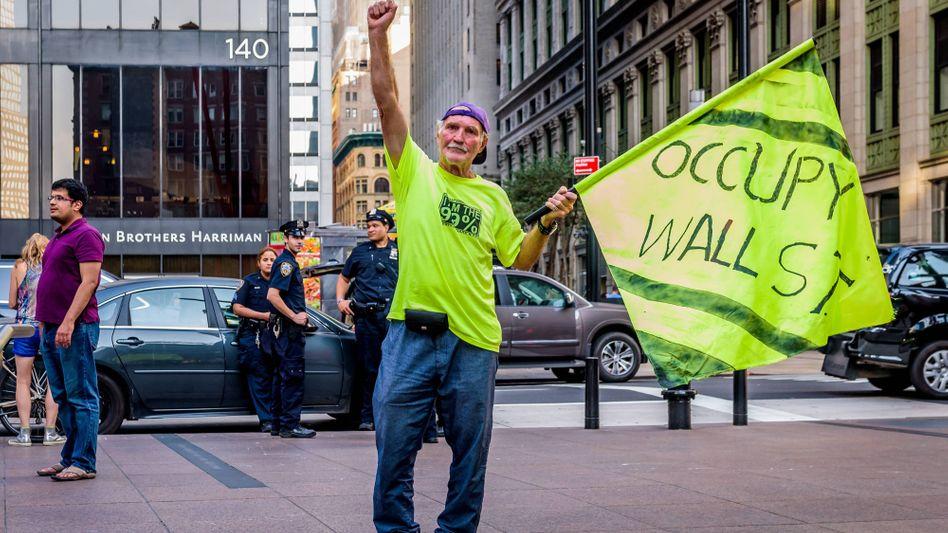 Kapitalismuskritiker in New York