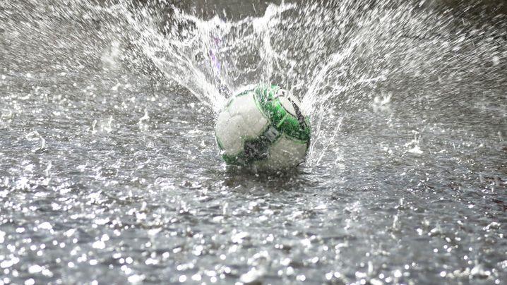 Testspiel der Nationalmannschaft: Wasserball in Klagenfurt