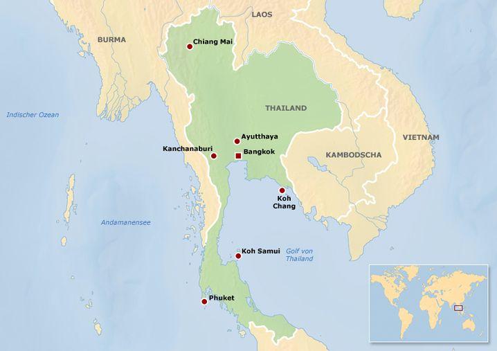 Koh Lipe liegt südöstlich von Phuket nahe der Grenze zu Malaysia.