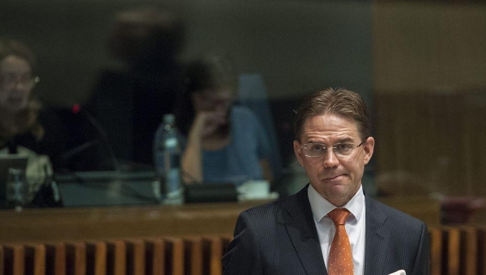 EU-Wirtschaftskommissar Katainen: Erst einmal zufrieden