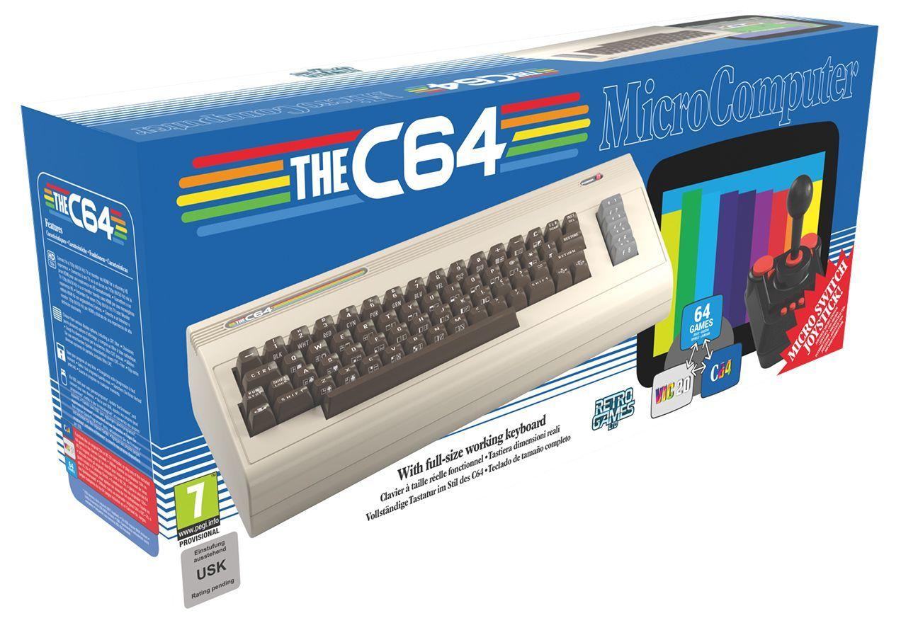 The C64 Fullsize Verpackung