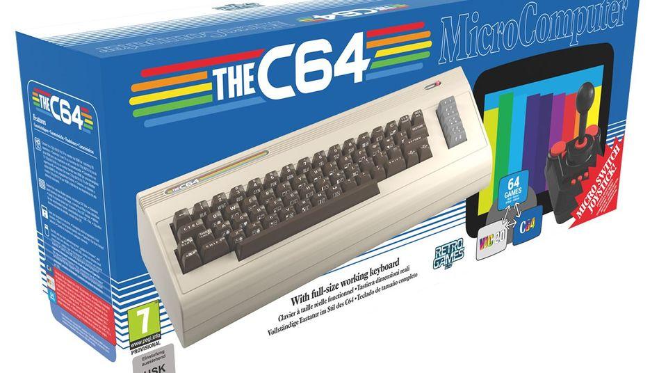 The C64 kann sowohl C64- als auch VIC-20-Spiele emulieren.