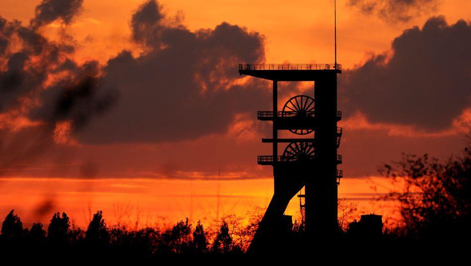Malakowturm der Zeche Prosper-Haniel in Bottrop