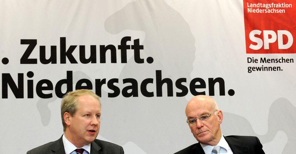 """SPD-Politiker Bartling (Archivbild): """"Da läuft etwas gegen dich"""""""