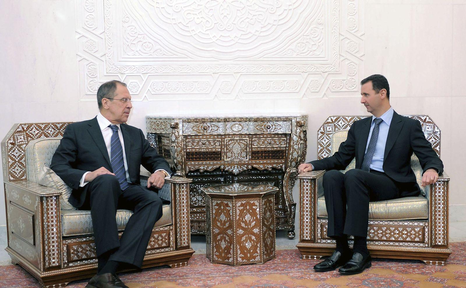 Syrien/ Lawrow