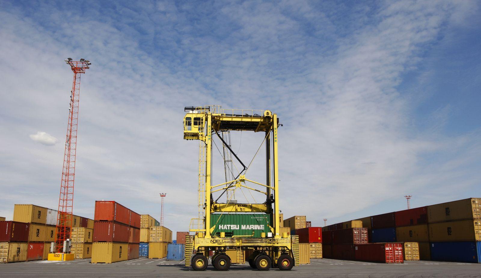 Container / Antwerpen / Konjunktur