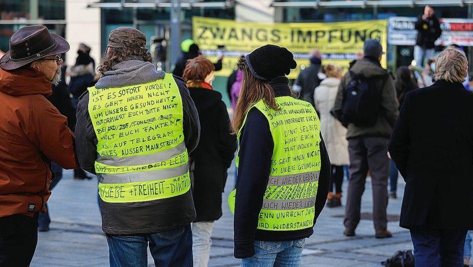 »Querdenker«-Demonstrierende in Hagen: »Ein erheblicher Schaden«