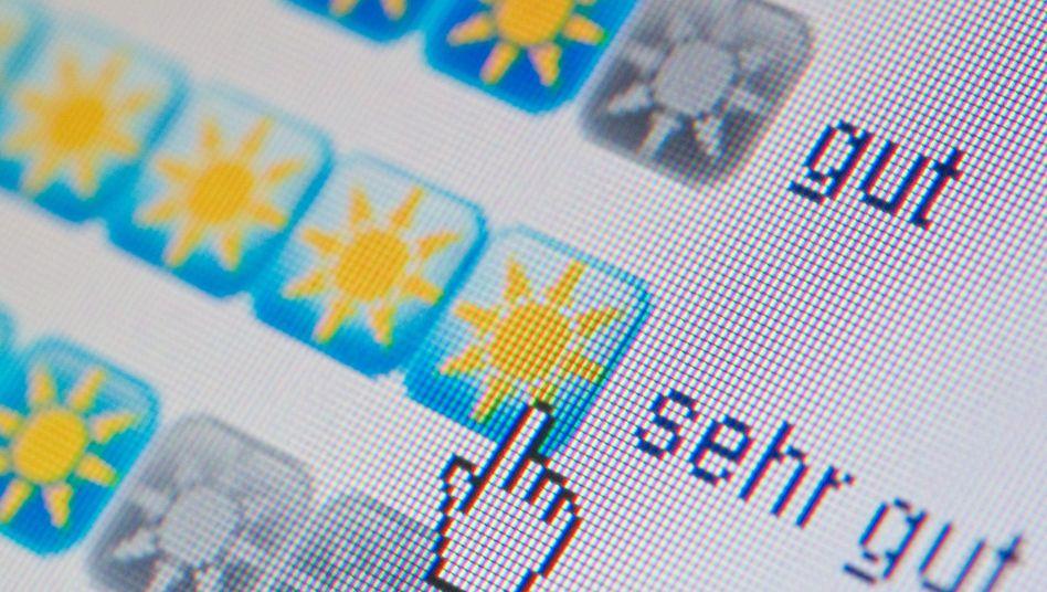 Gut oder sehr gut: Hotelbewertungen im Internet sind einseitig