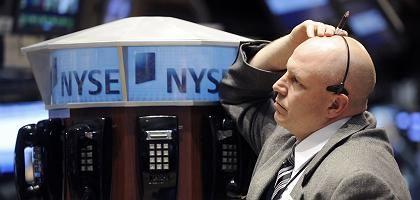Börsianer an der Wall Street: Düstere Perspektiven
