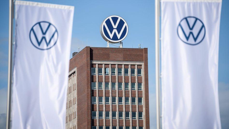 Die Volkswagen-Zentrale in Wolfsburg