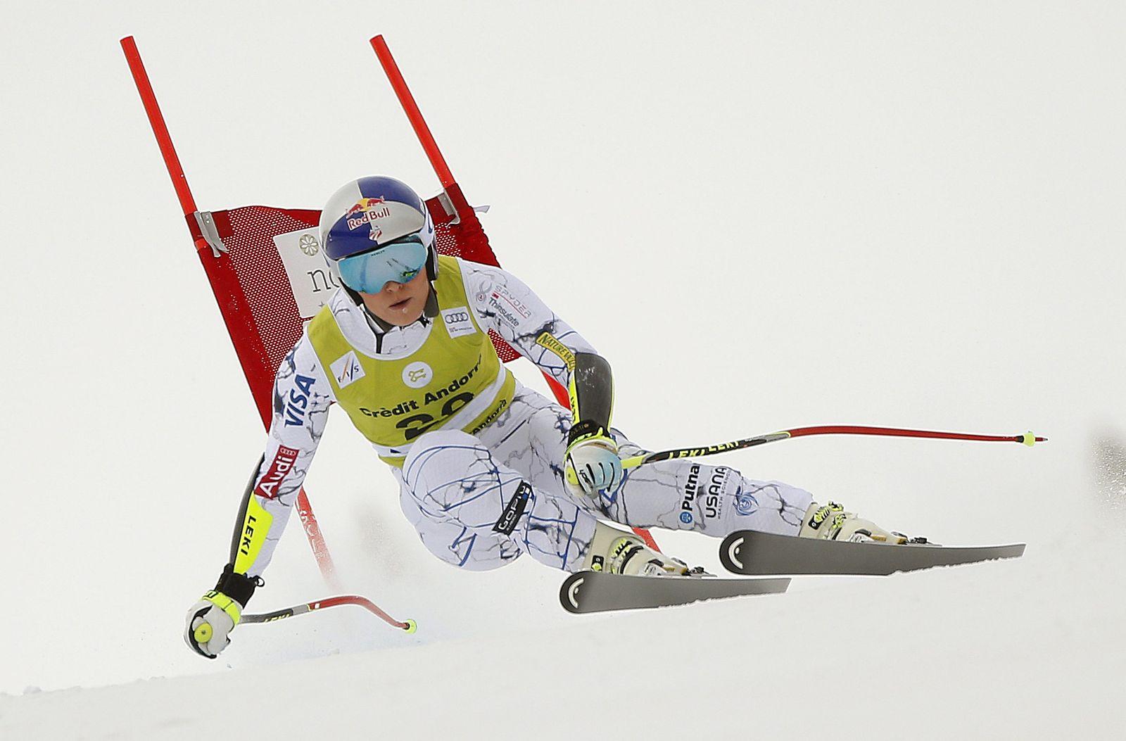 FIS Alpine Skiing World Cup in Soldeu-El Tarter