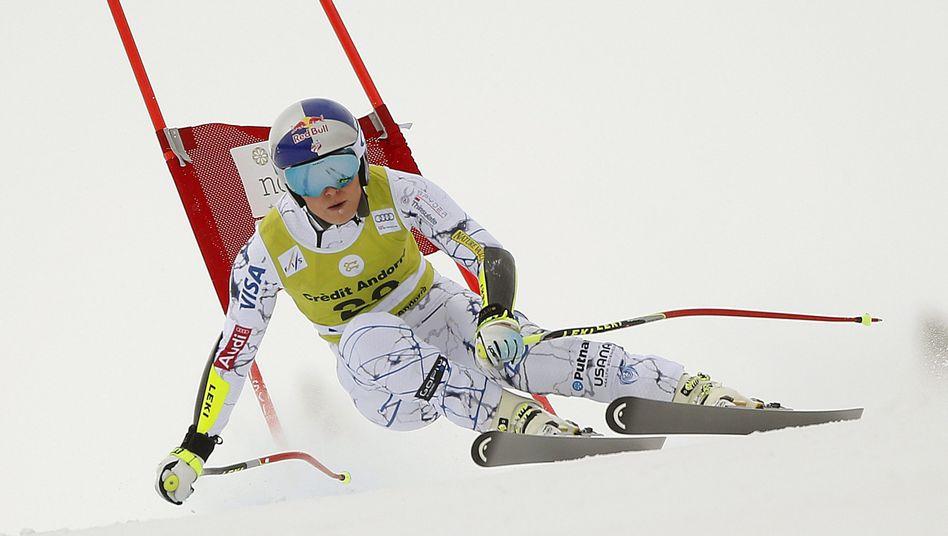 Ski-Star Vonn: Führung im Gesamtklassement ausgebaut