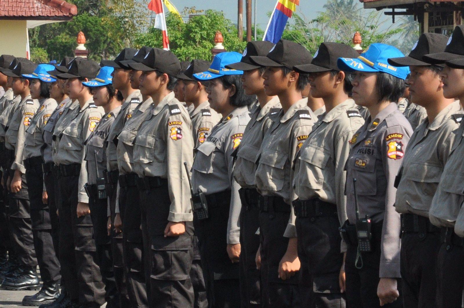 Indonesien Polizei