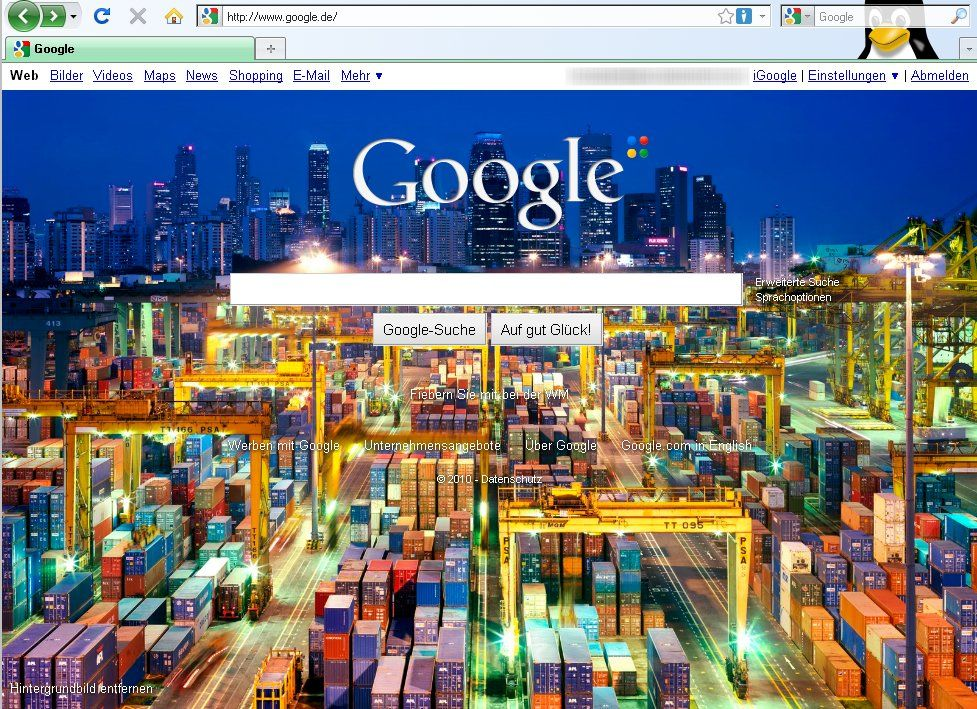 SCREENSHOT Google
