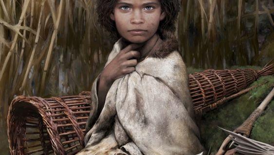 So sah die Frau aus der Steinzeit etwa aus