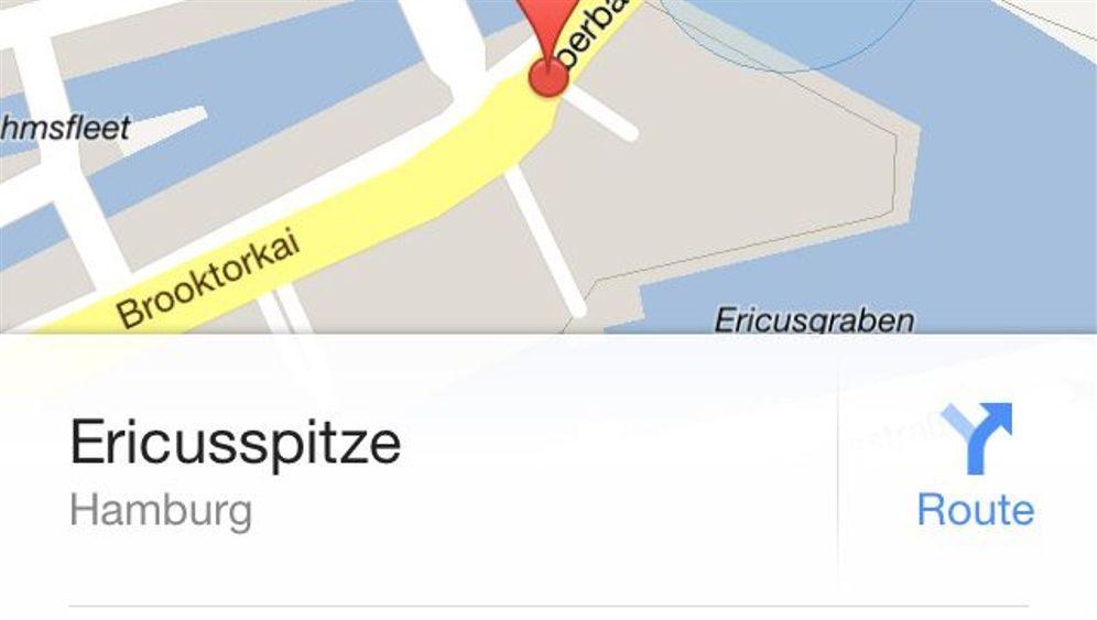 Google Maps App: So sieht Google Maps unter iOS aus