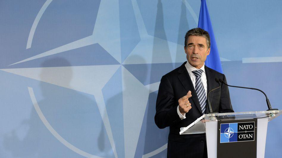 """Nato-Generalsekretär Rasmussen: """"Völlig inakzeptable syrische Attacken"""""""
