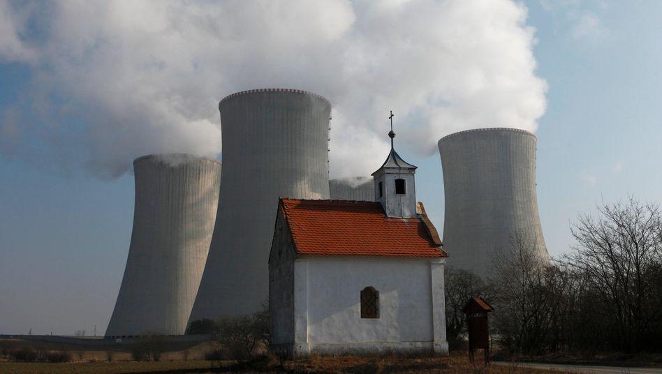 Das Atomkraftwerk in Dukovany – russische Firmen dürfen sich gar nicht erst auf die Ausschreibung für den Ausbau bewerben