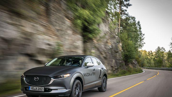 Mazdas erstes Elektroauto: Wechselstrom