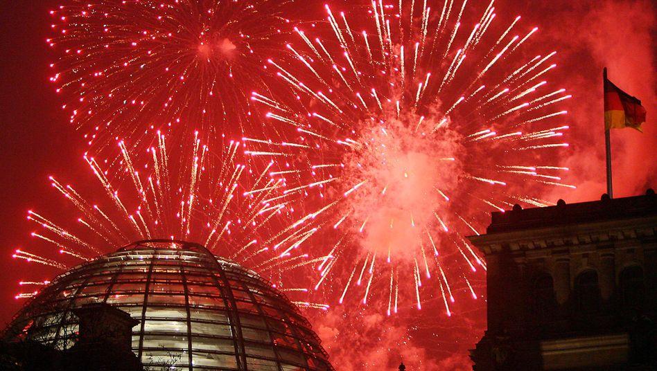 Feuerwerk über dem Reichstag (Archiv): Empfehlung zum Verzicht