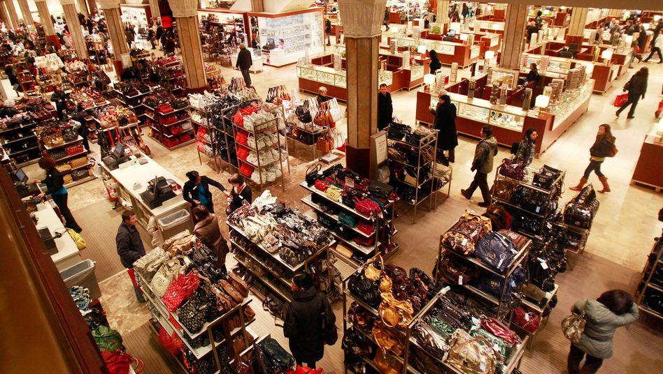 US-Einkaufszentrum: Wahlqual im Konsumtempel