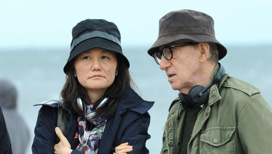 Ehepaar Soon-Yi Previn, Woody Allen 2016 in Brooklyn