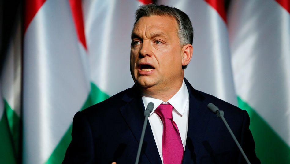 Ungarischer Premier Viktor Orbán