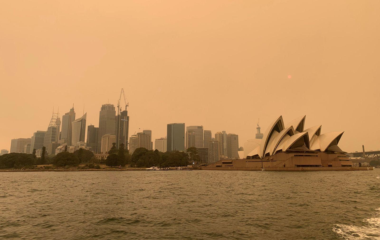 AUSTRALIA-BUSHFIRES/TOURISM