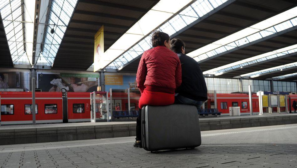 Tarifstreit bei der Bahn: Lokführer streiken von Mittwoch bis Montag
