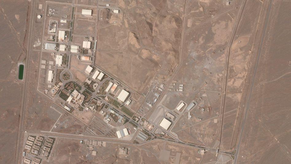 Im Fokus der Weltöffentlichkeit: Die Atomanlage von Natans
