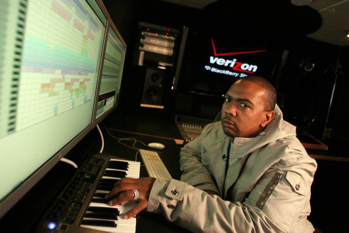Kalte Beats, kalter Blick: Zu Timbalands Hits gehört immer etwas Frost dazu