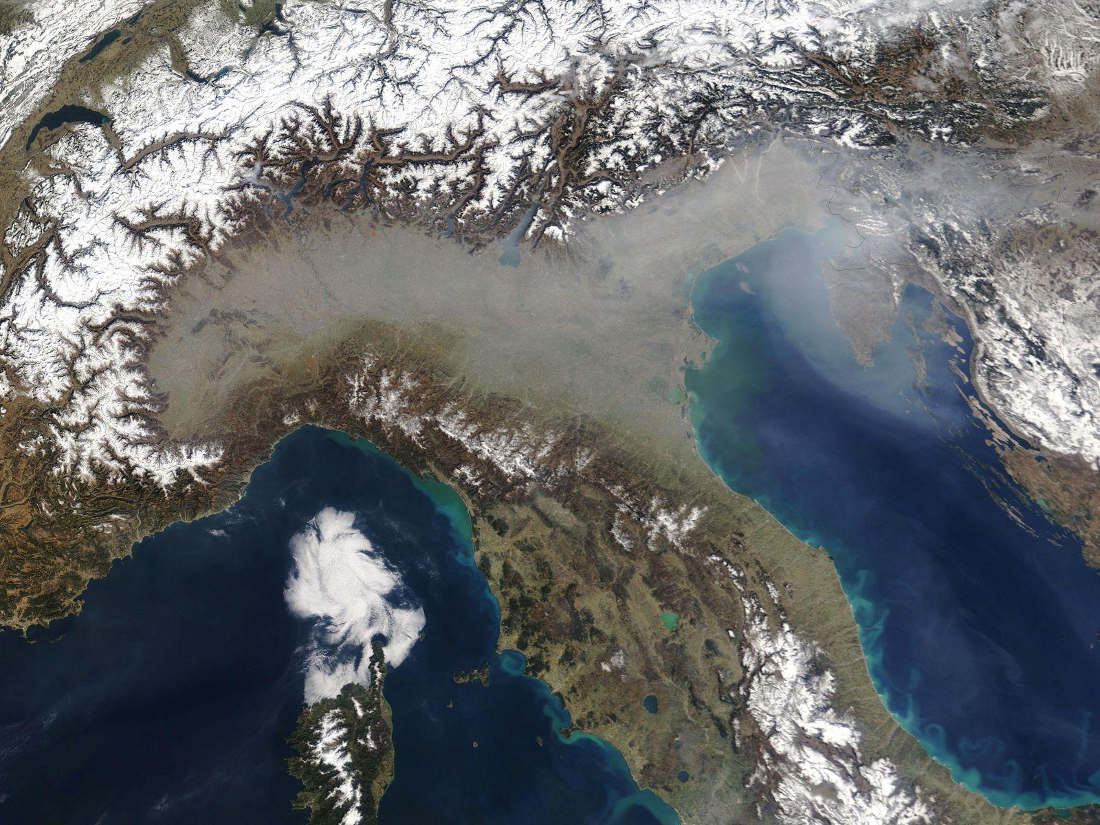 Luftverschmutzung Italien