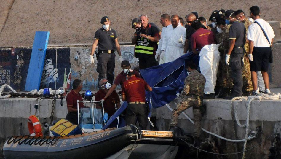 Hafen von Lampedusa: Die Insel fühlt sich alleingelassen
