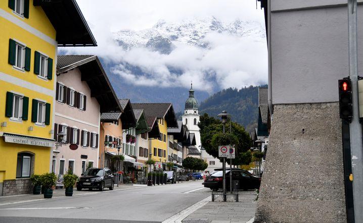Kuchl im Salzburger Land kann bis auf wenige Ausnahmen gerade nicht bereist werden.
