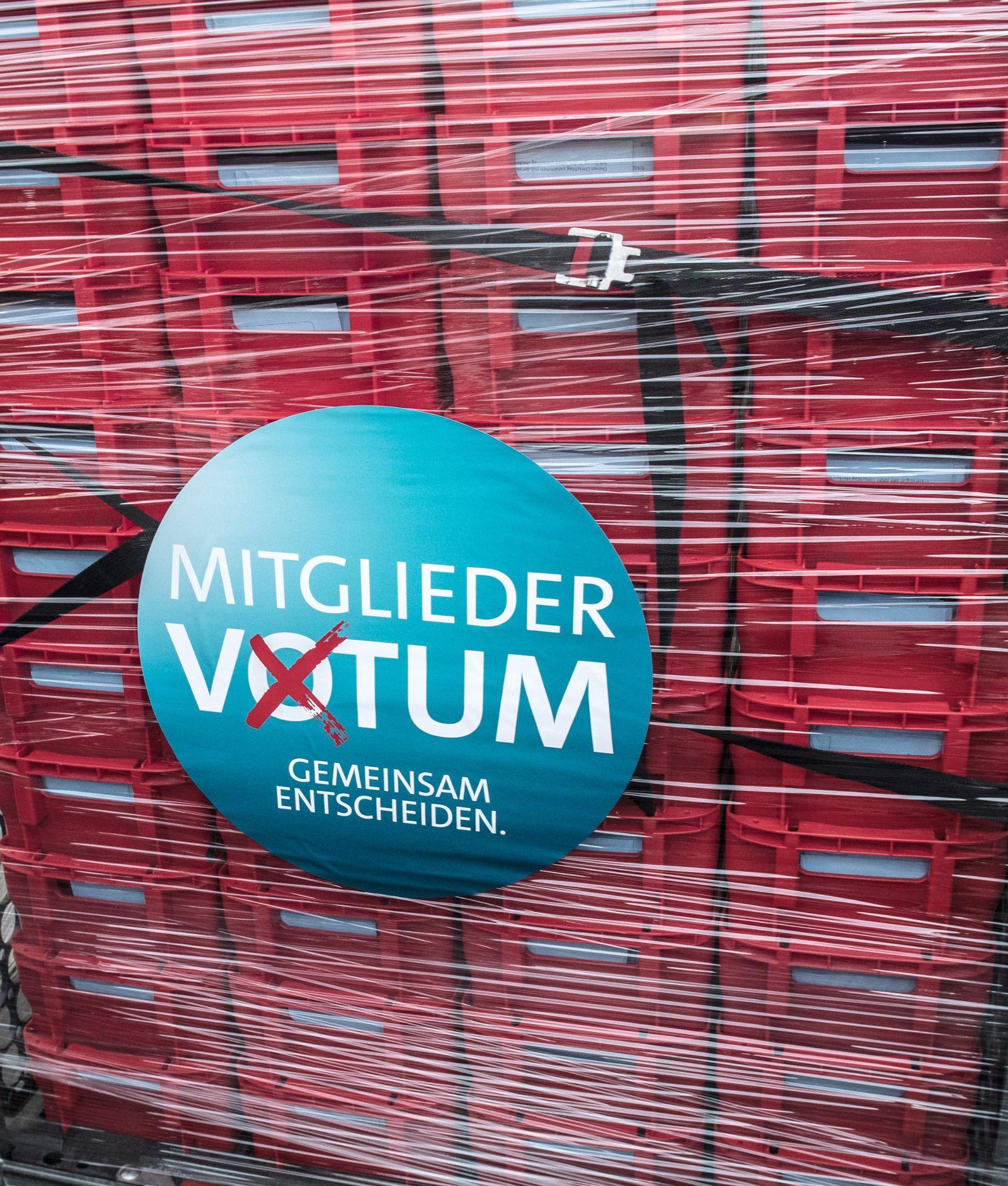 Mitgliedervotum der SPD