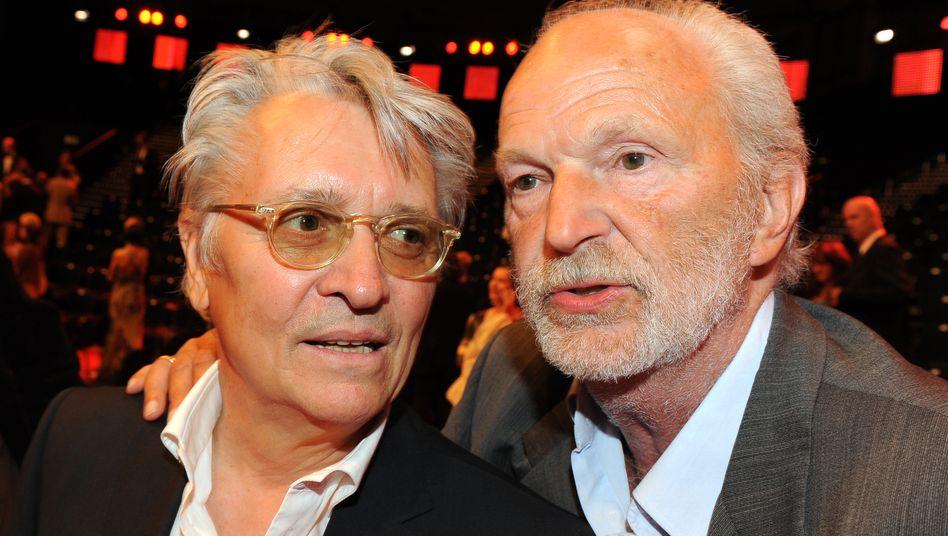 Henry Hübchen und Michael Gwisdek (2009 auf der Filmpreis-Party)
