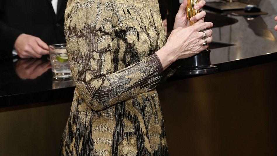 Frances McDormand mit ihrem Oscar